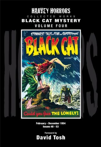 Harvey Horrors Collected Works - Black Cat Mystery (Vol 4)
